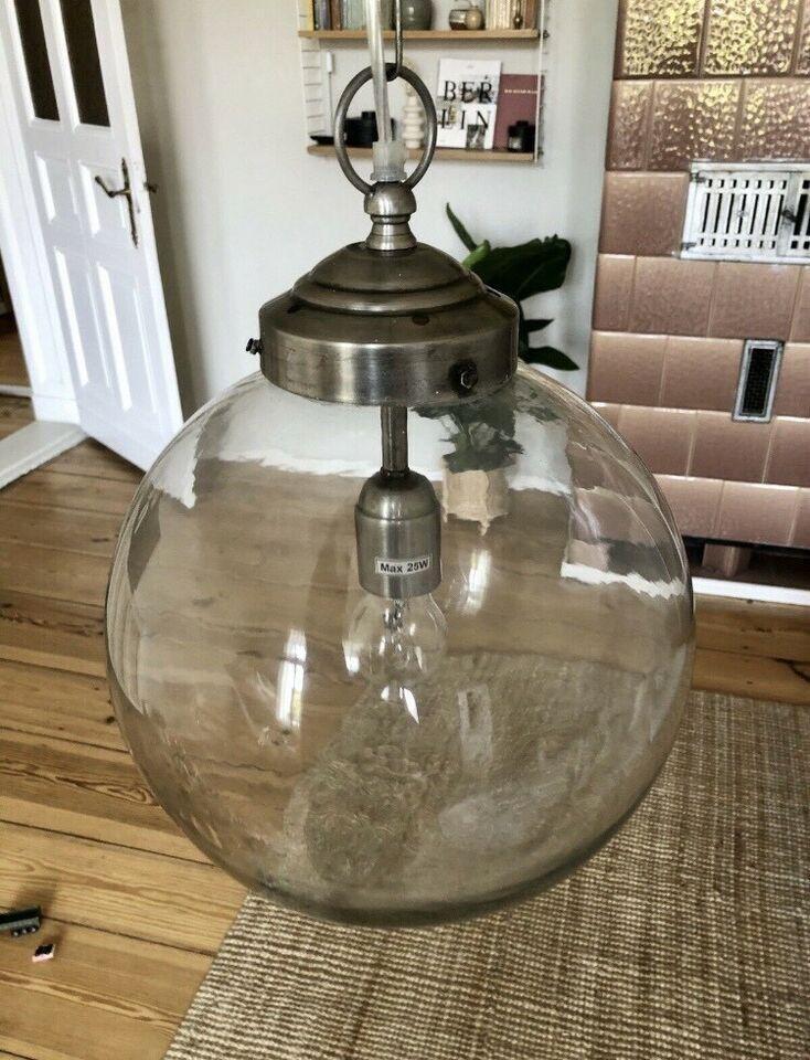 Nordal Lampe Glas