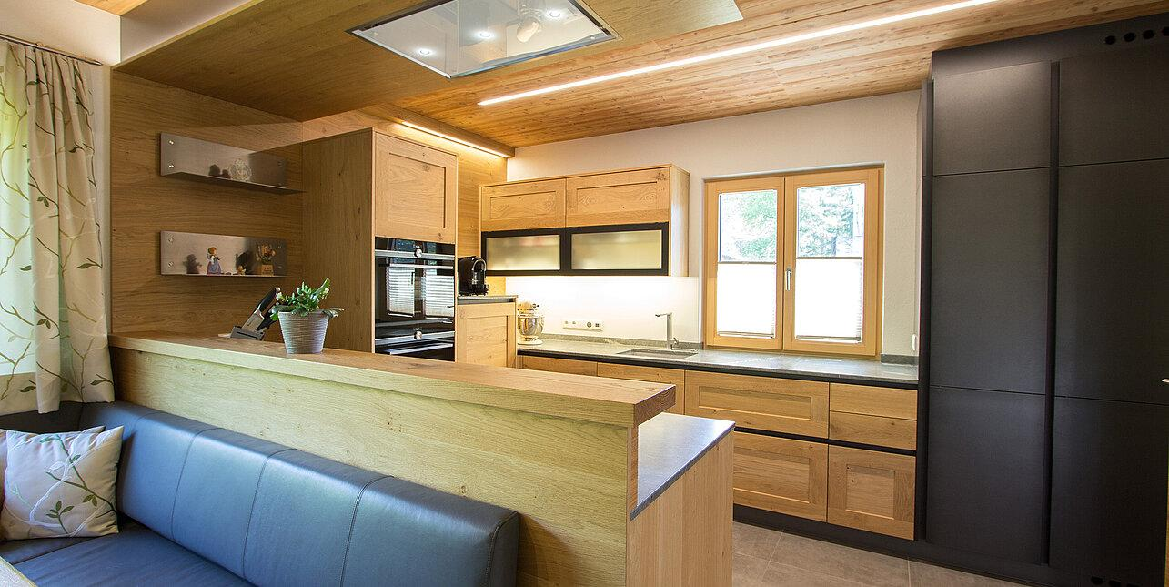 Oberschrank Küche Holz
