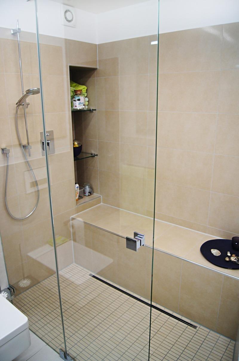 Offene Dusche Kleines Bad