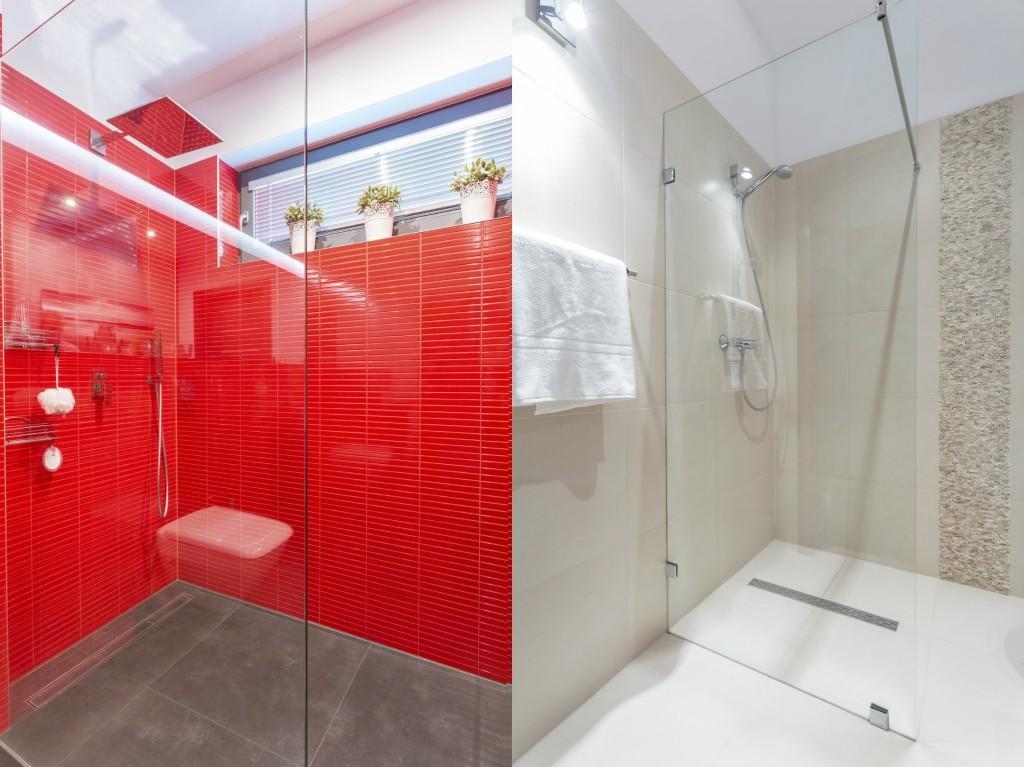 Offene Dusche Neben Badewanne