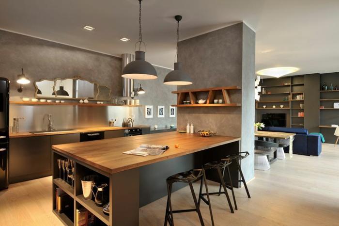 Offene Küche Wohnzimmer Ideen