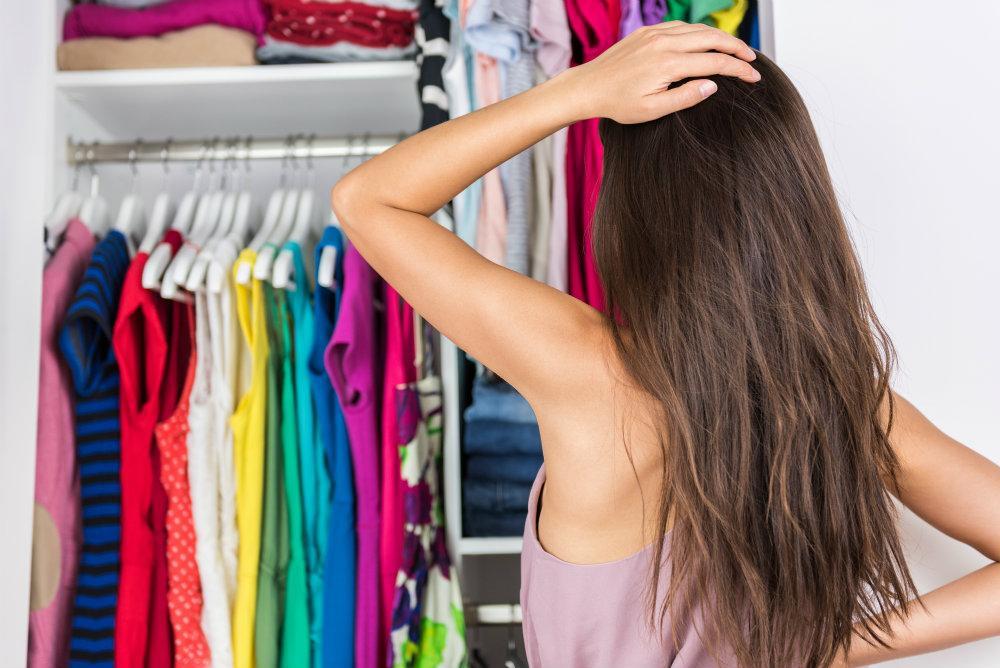 Ordnung Kleiderschrank System