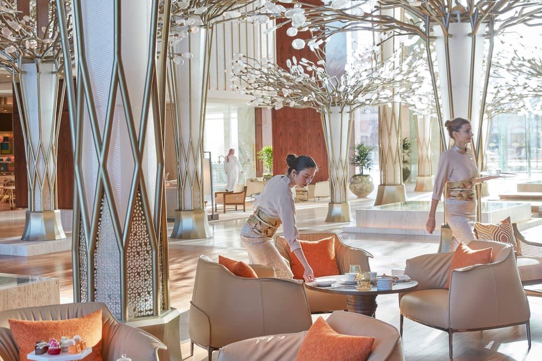 Orientalische Lounge Möbel