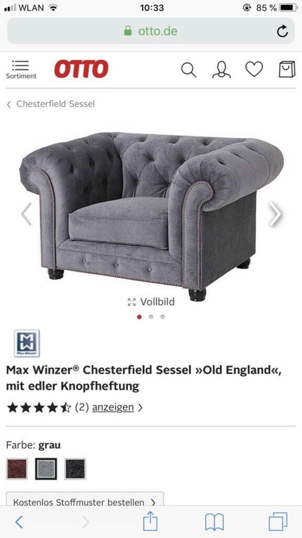 Otto Sessel Sale