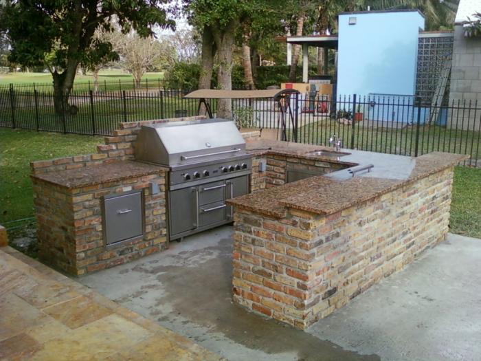 Outdoor Küche Bauen Ideen