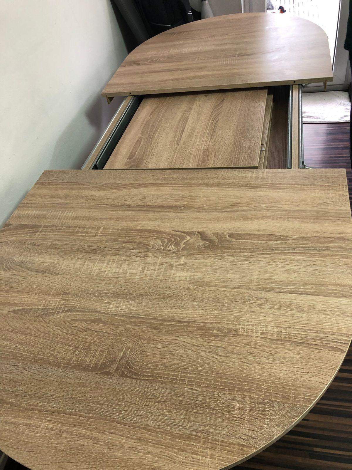 Ovaler Esstisch Ausziehbar Holz