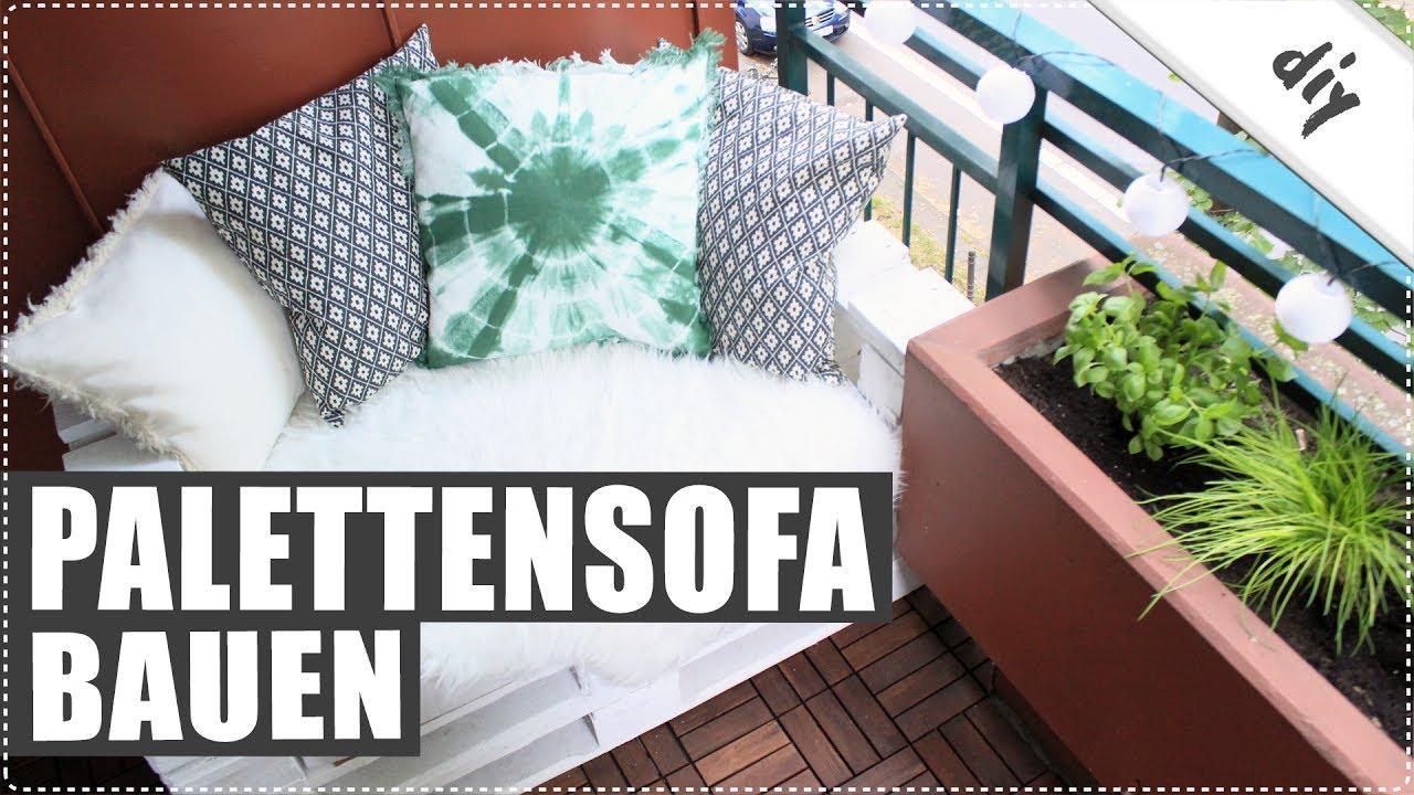 Paletten Sofa Ausziehbar