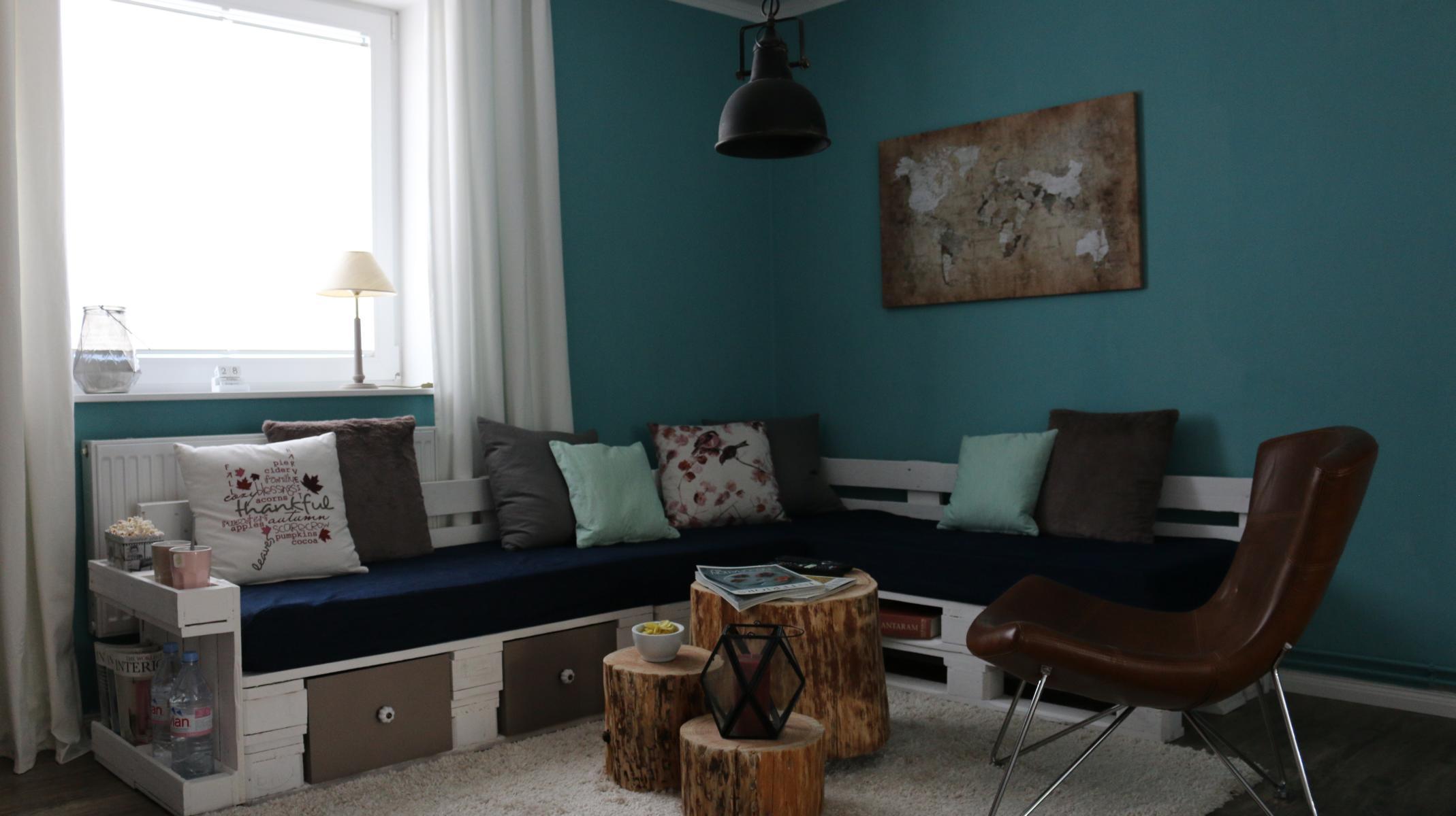 Paletten Sofa Für Wohnzimmer