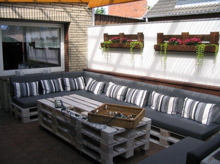 Paletten Terrassenmöbel Selber Bauen