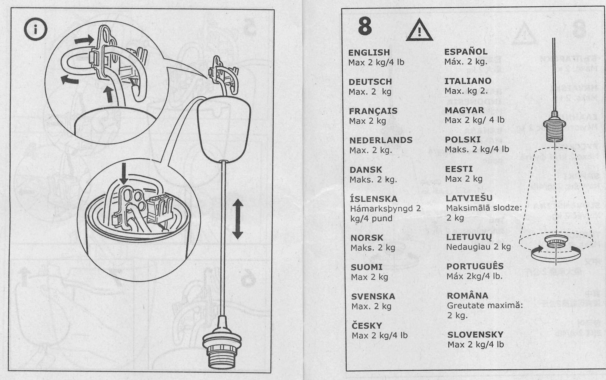 Papier Ikea Lampen Decke