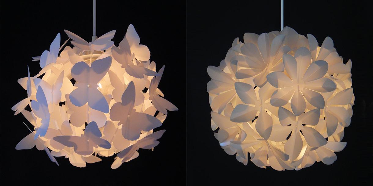 Papier Lampenschirm Kinderzimmer
