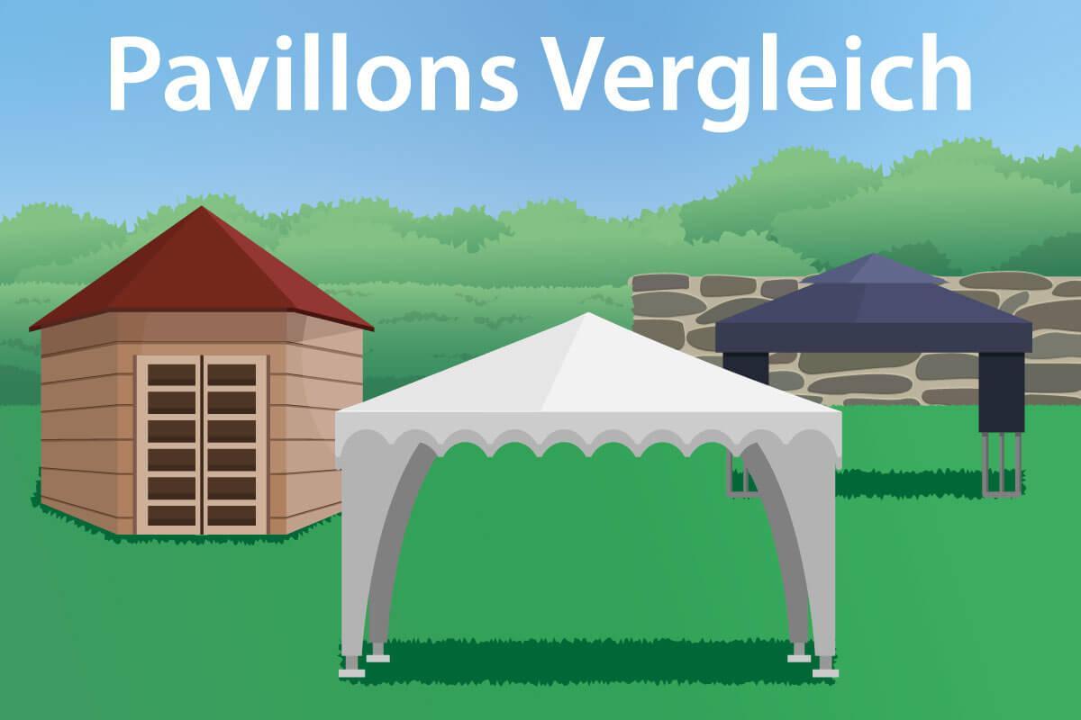 Pavillon 4×4 Wetterfest