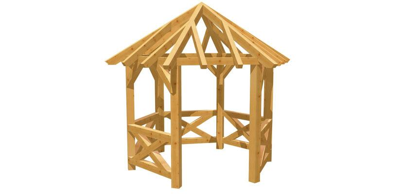Pavillon Aus Holz Selber Bauen Bauanleitung