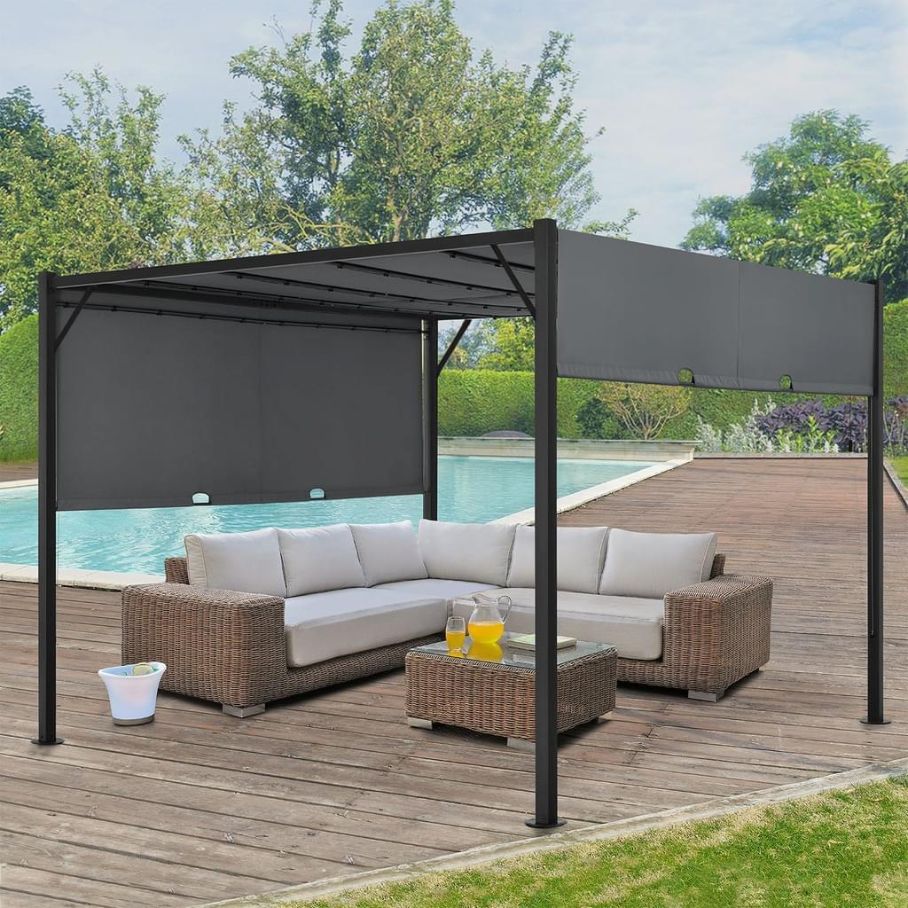 Pavillon Metall 3×4