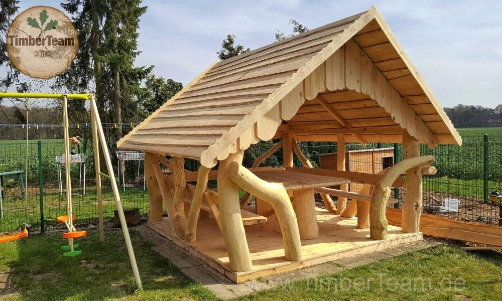Pavillon Rund Holz Selber Bauen