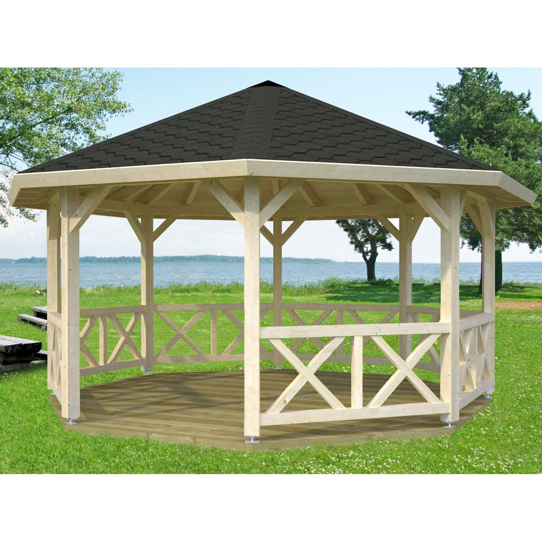 Pavillon Rund Holz