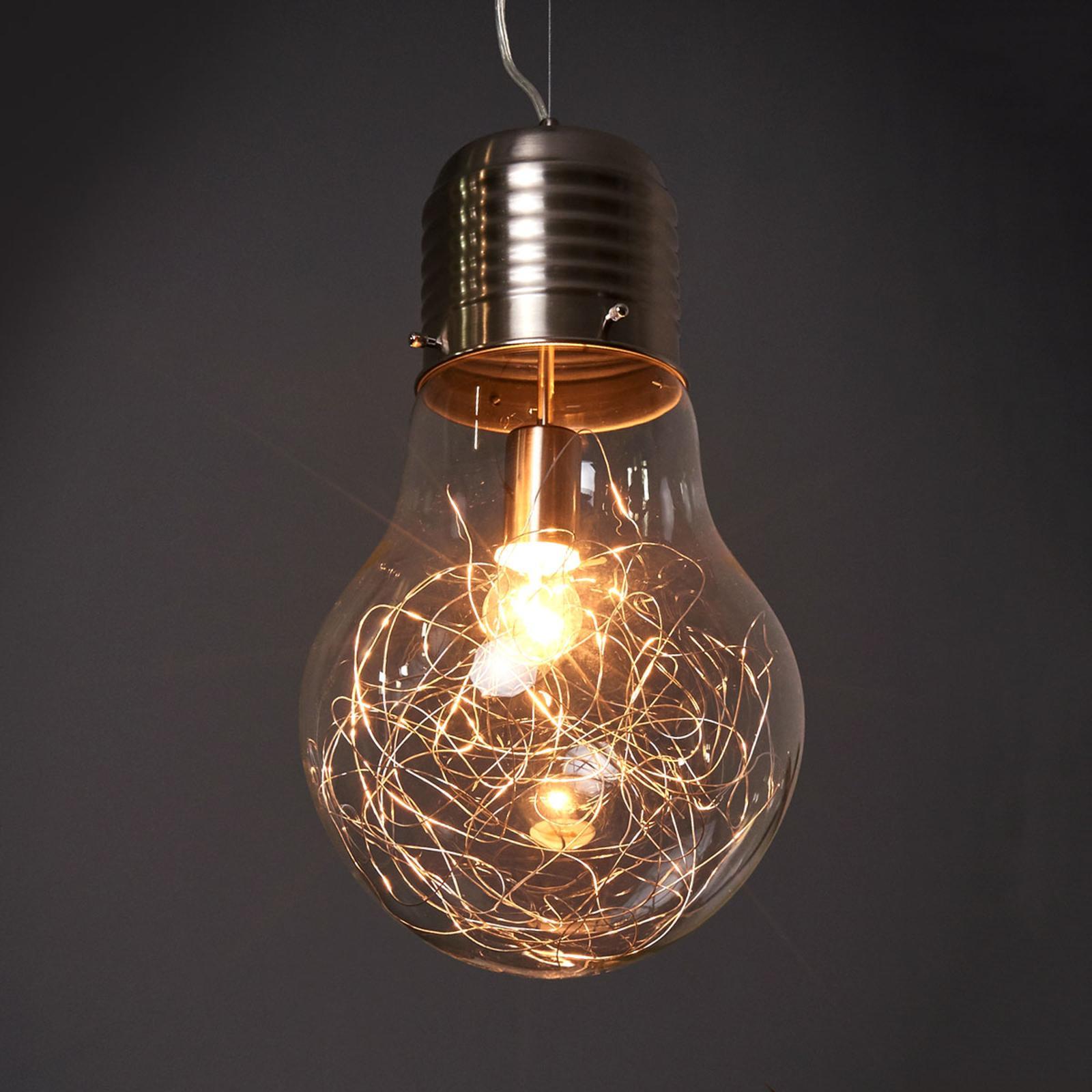 Pendelleuchte Glühbirnen Optik