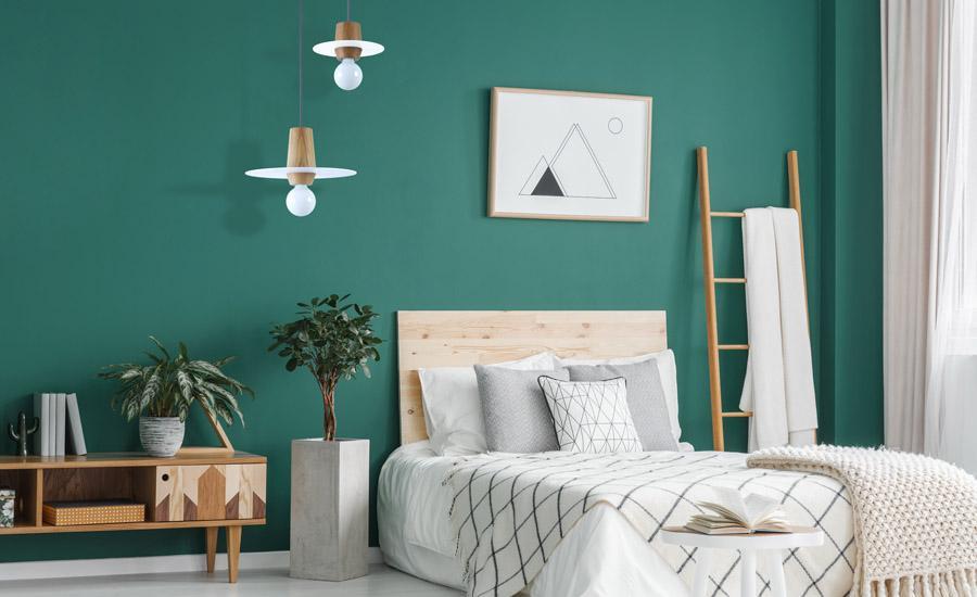 Pendelleuchte Schlafzimmer Holz