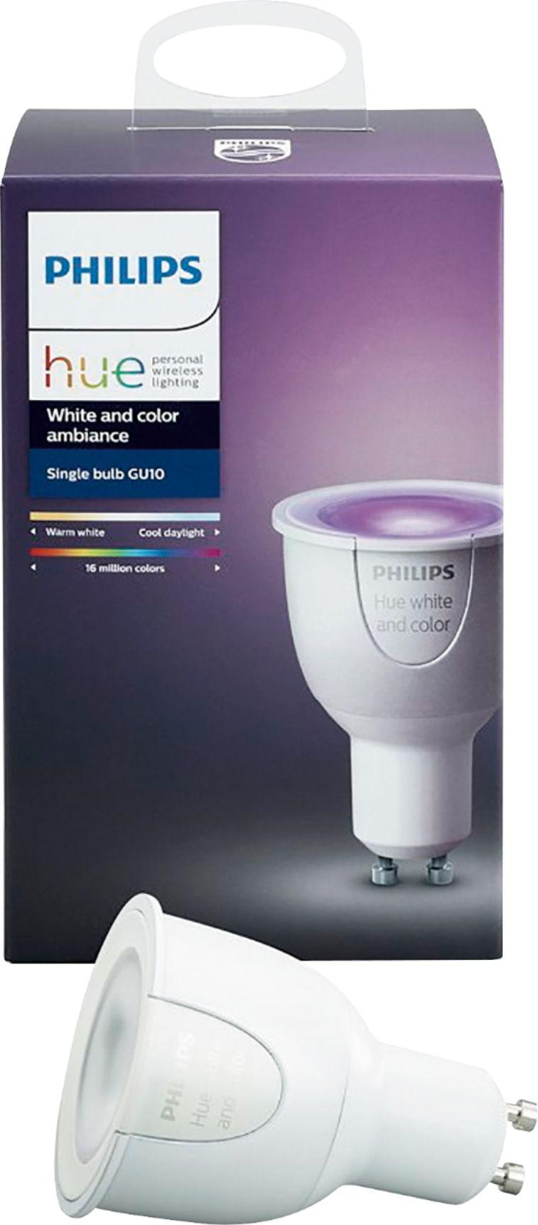 Philips Hue Gu10 White And Color
