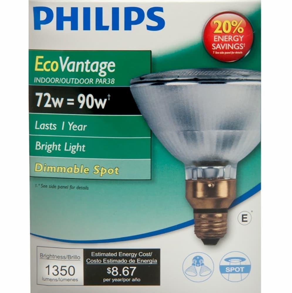Philips Par38 Medium Indooroutdoor Led Floodlight Light Bulb