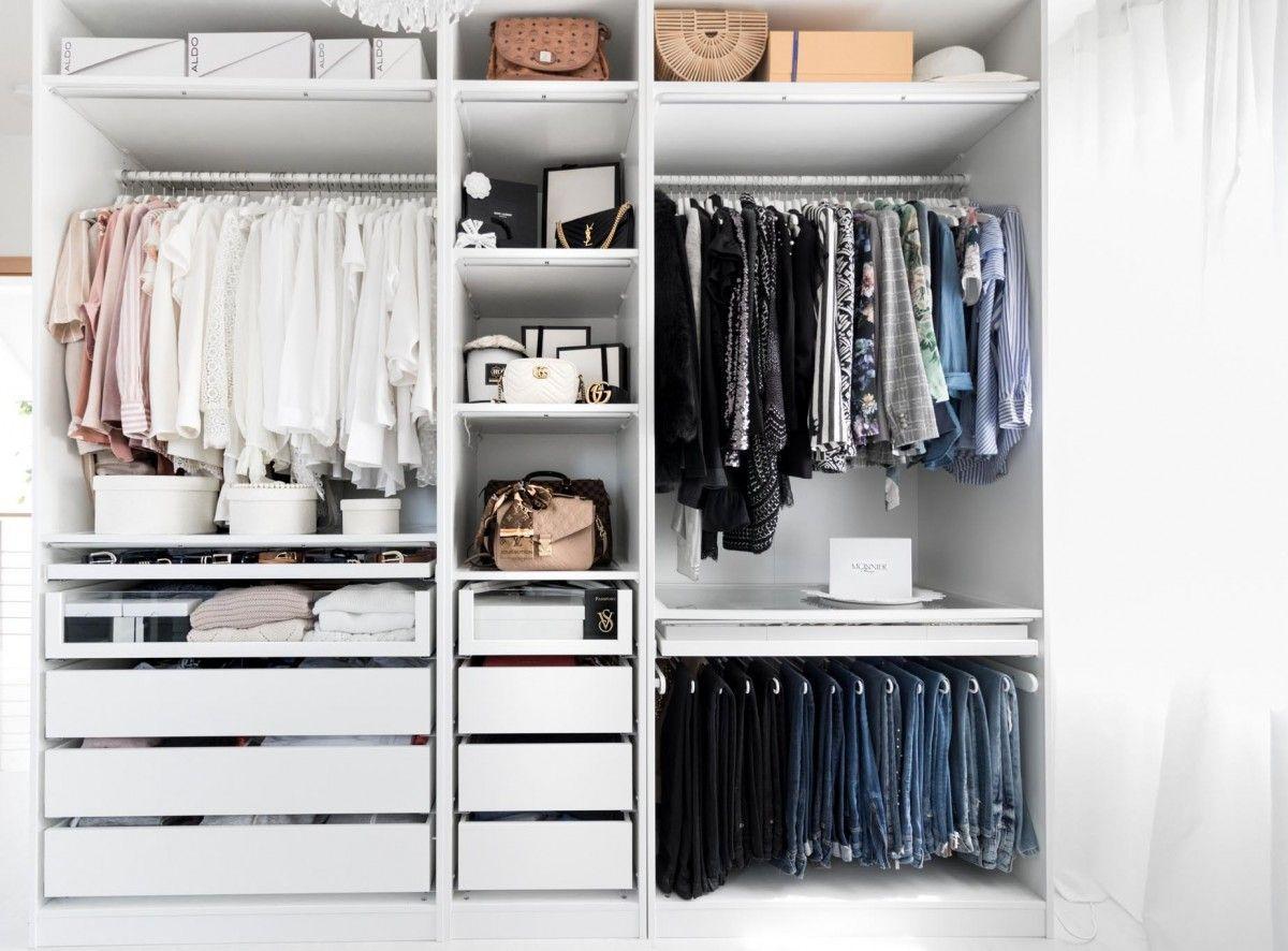 Pinterest Begehbarer Kleiderschrank Ikea