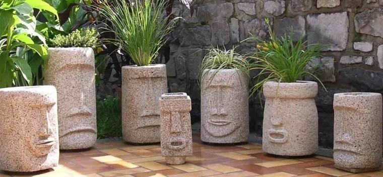 Pinterest Gartendeko Beton