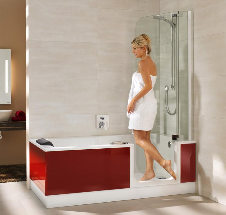 Platzsparende Badewanne Kleine Badewanne