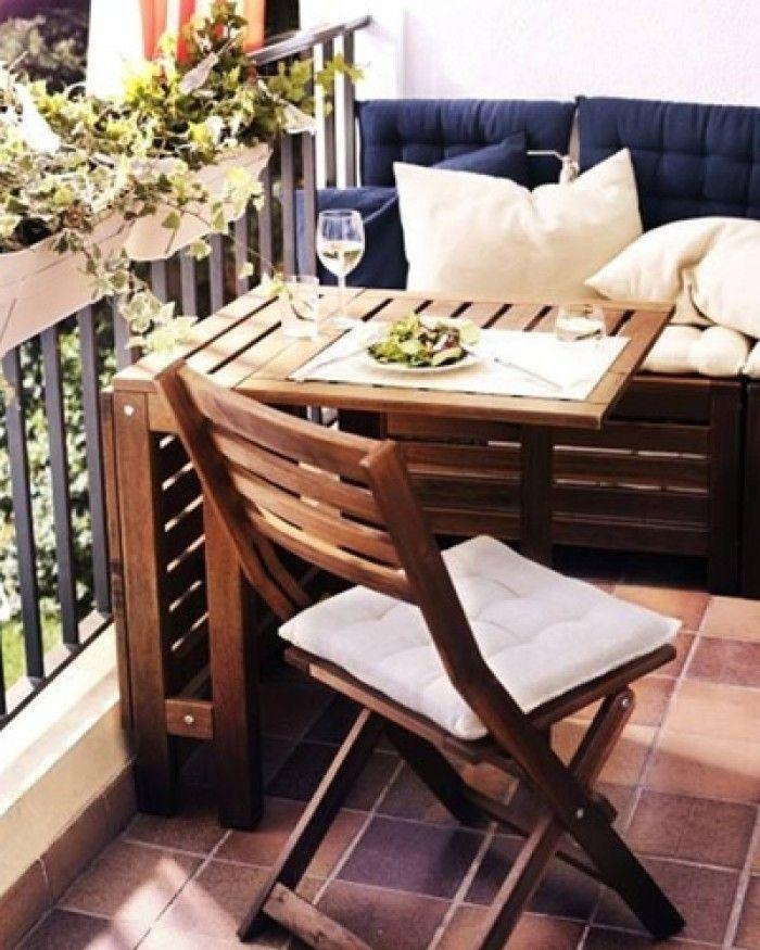 Platzsparende Balkonmöbel Für Kleinen Balkon