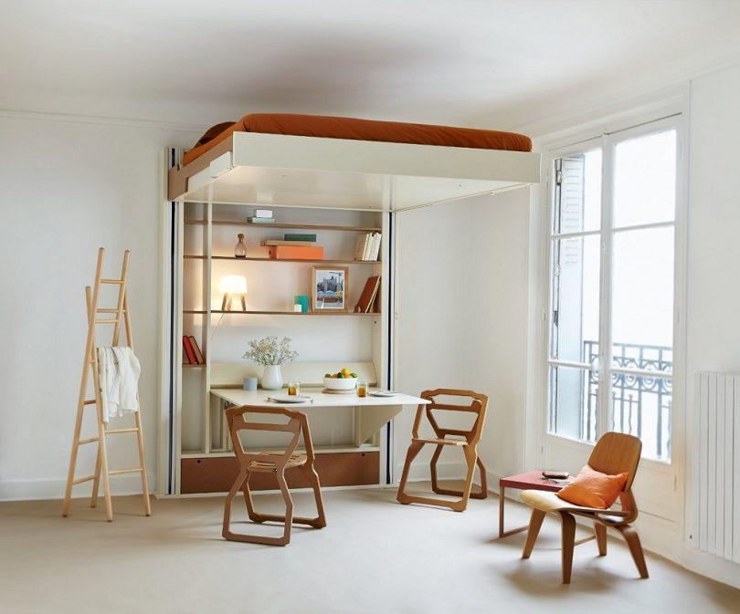 Platzsparende Möbel Esstisch