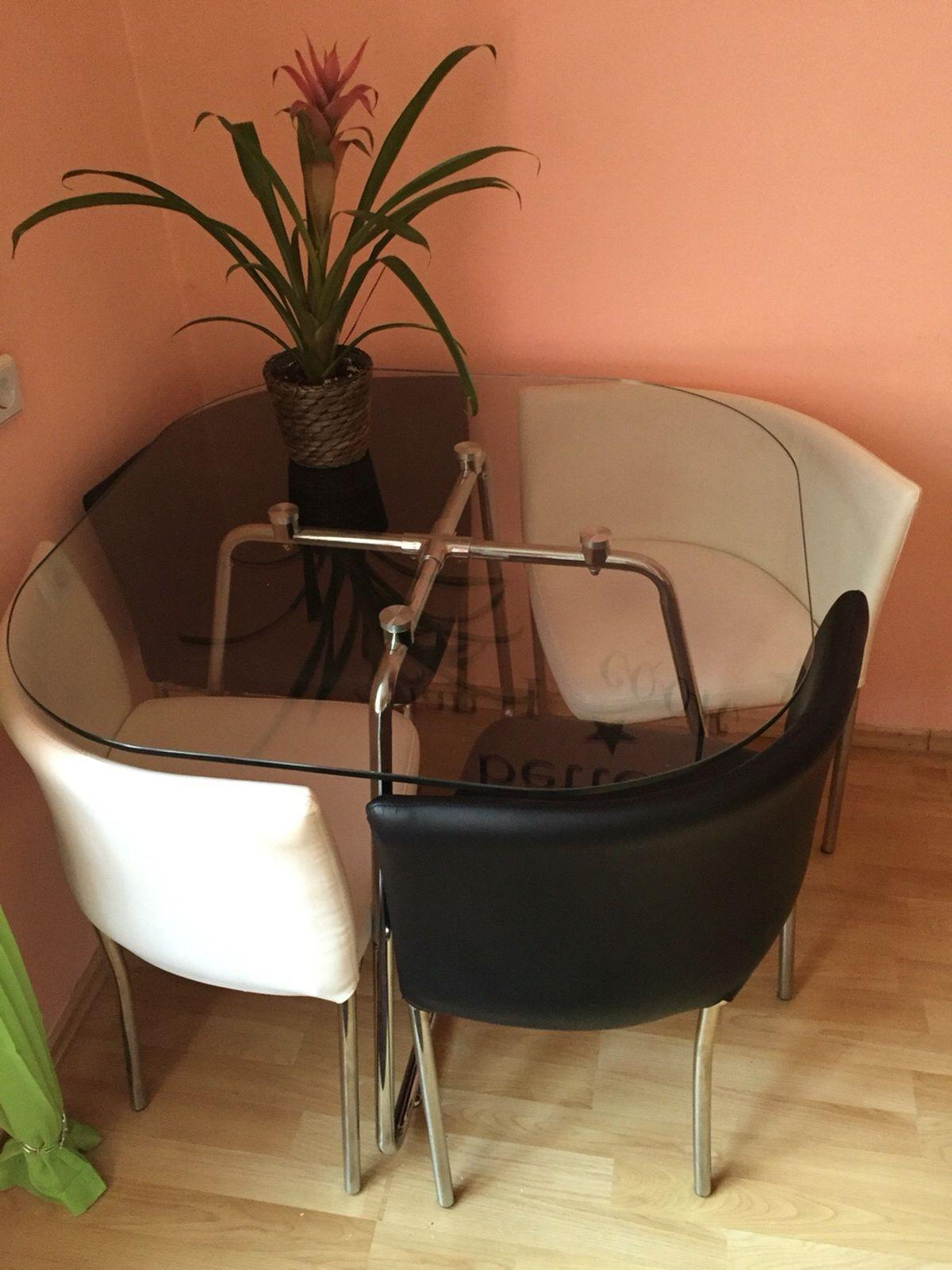 Platzsparender Esstisch Mit Stühlen