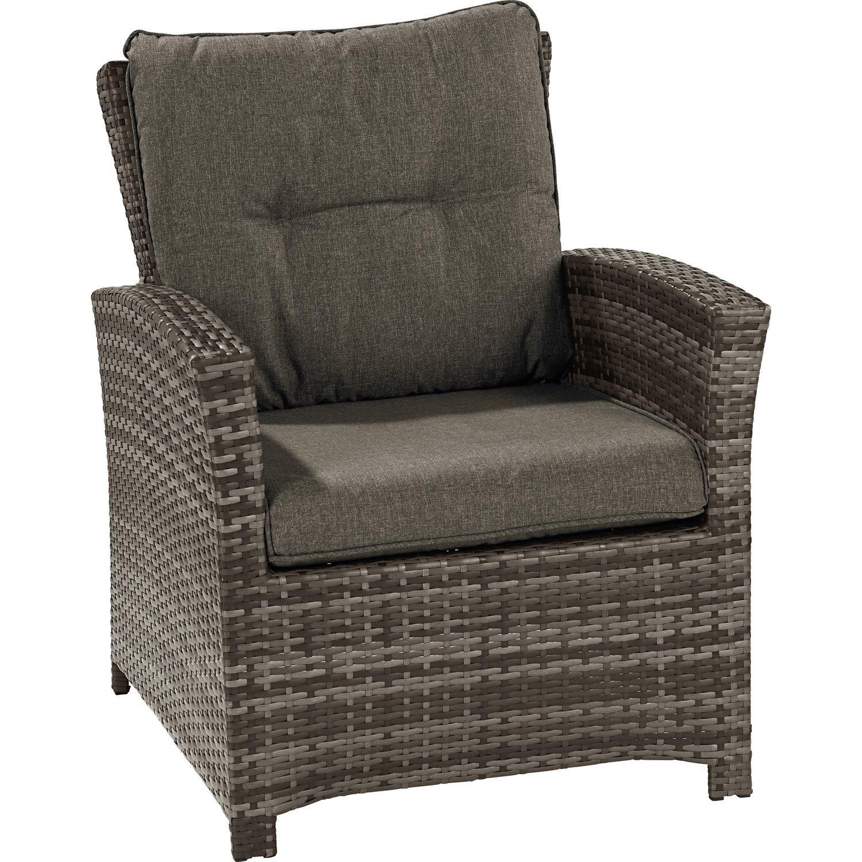 Polyrattan Lounge Sessel