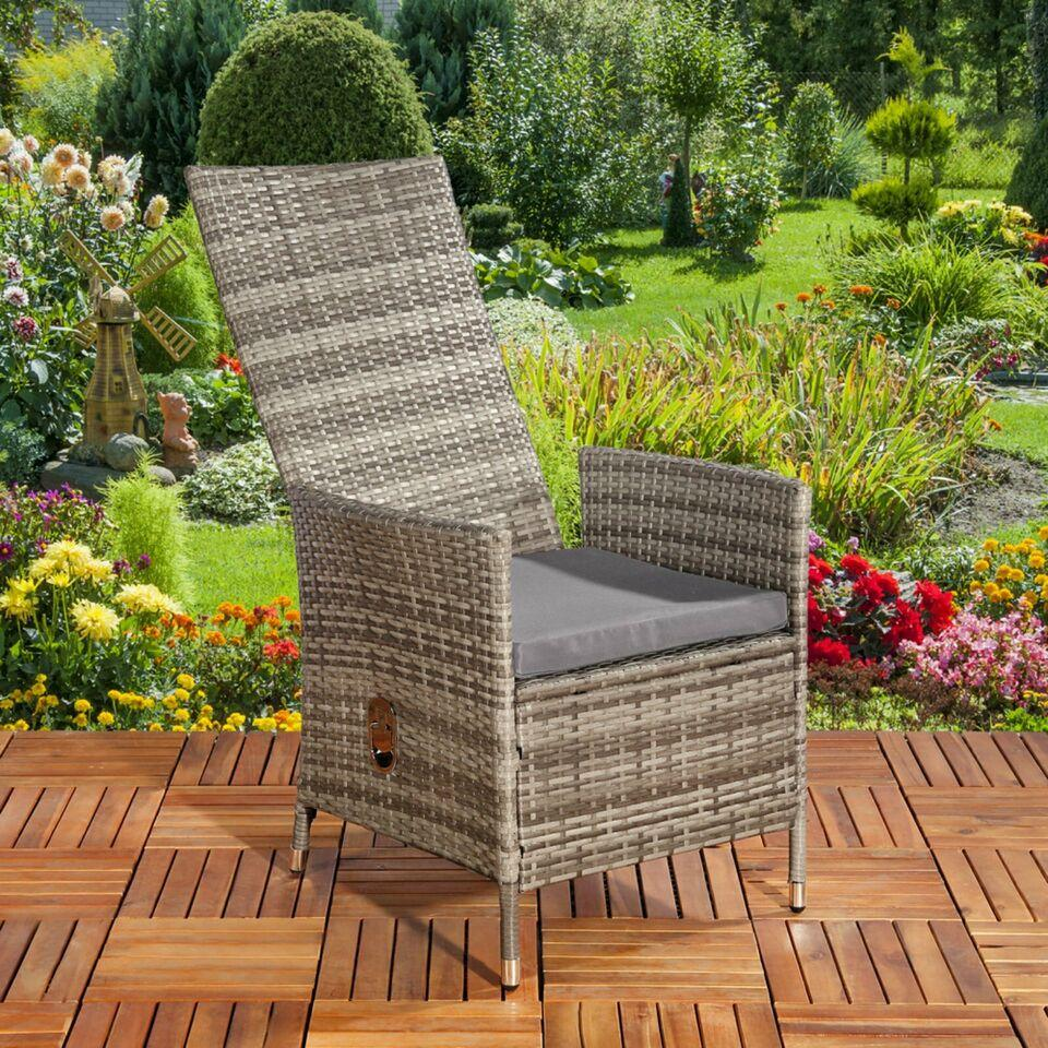 Polyrattan Relaxsessel Garten