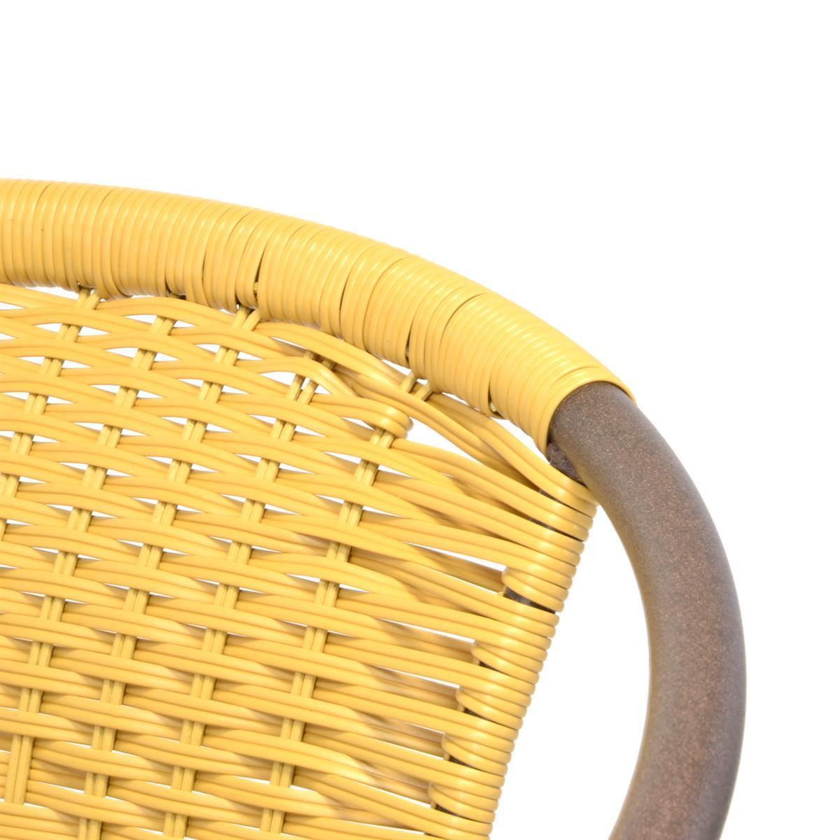 Polyrattan Stühle Beige
