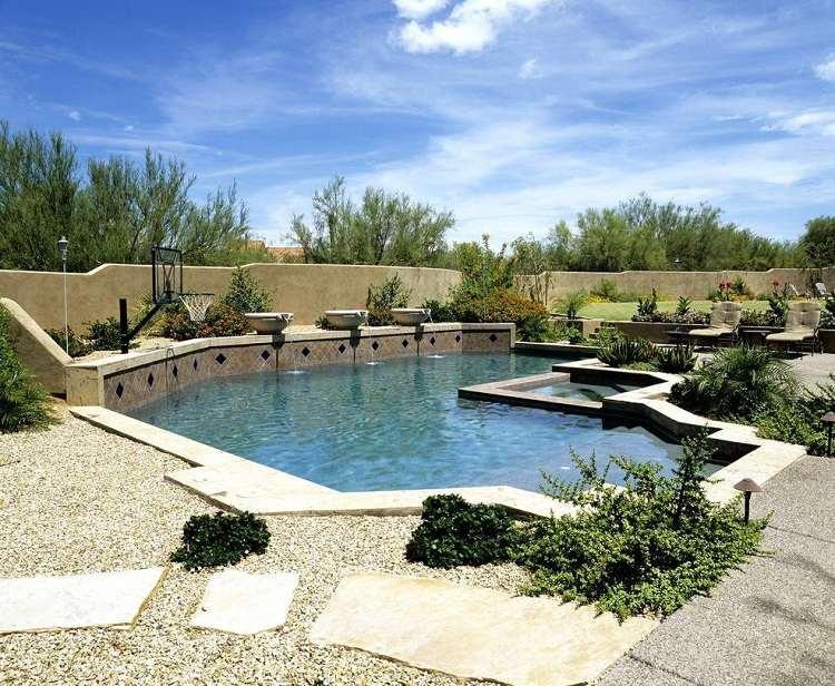 Pool Garten Gestaltungsideen