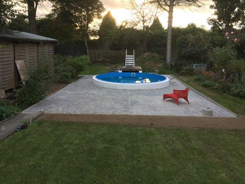 Pool Im Garten Selber Bauen