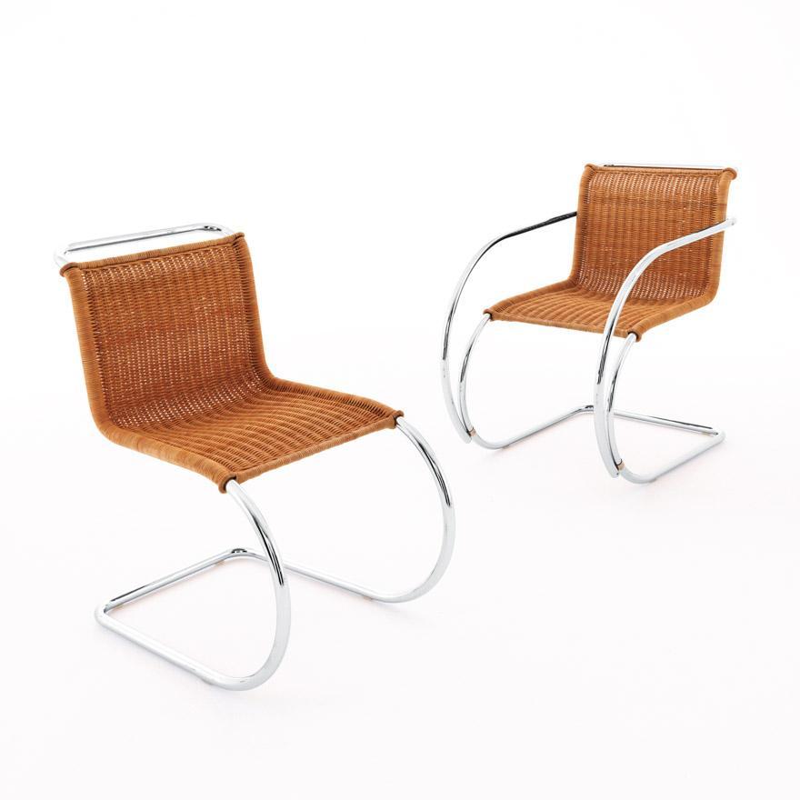 Rattan Freischwinger Stühle
