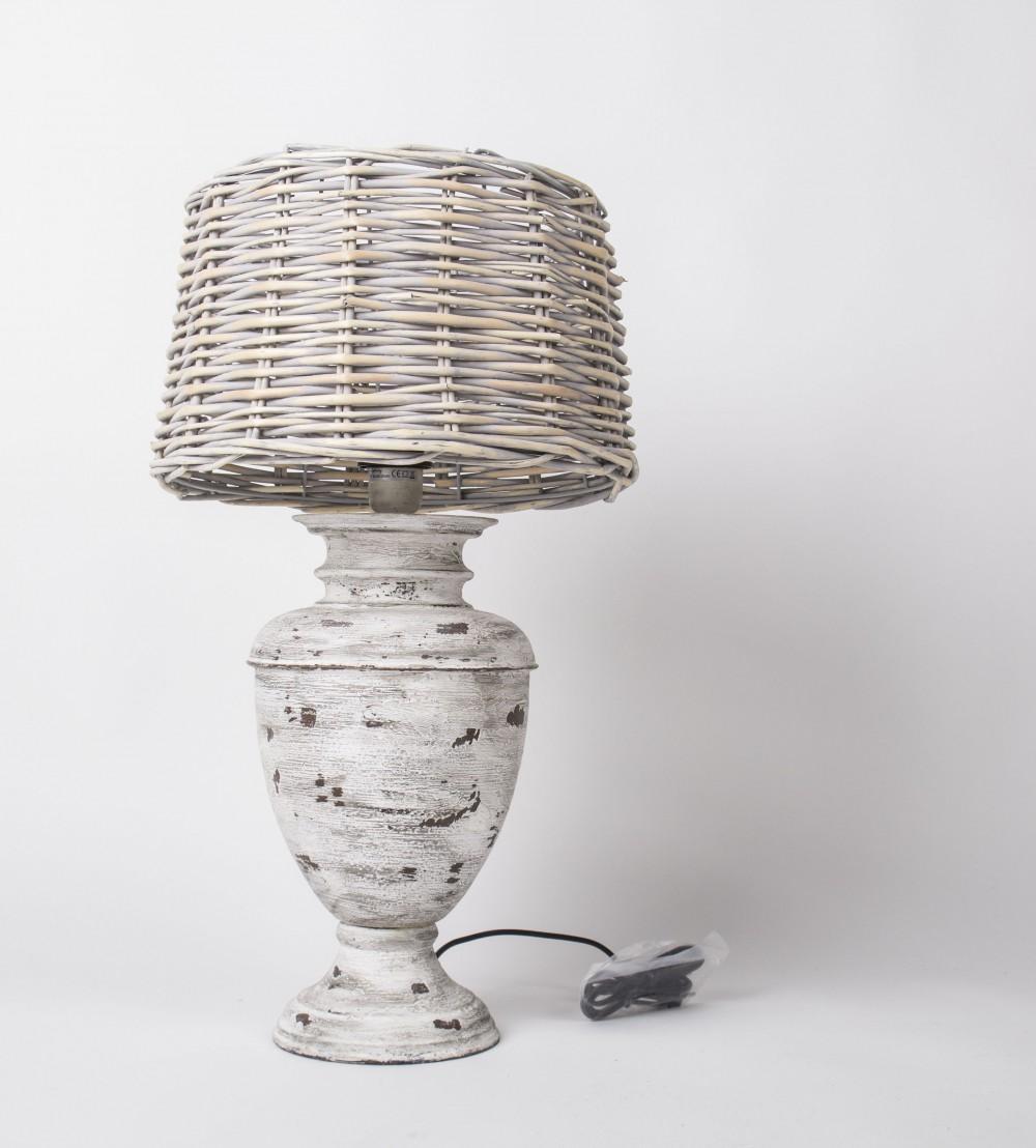 Rattan Lampenschirm Für Tischlampe