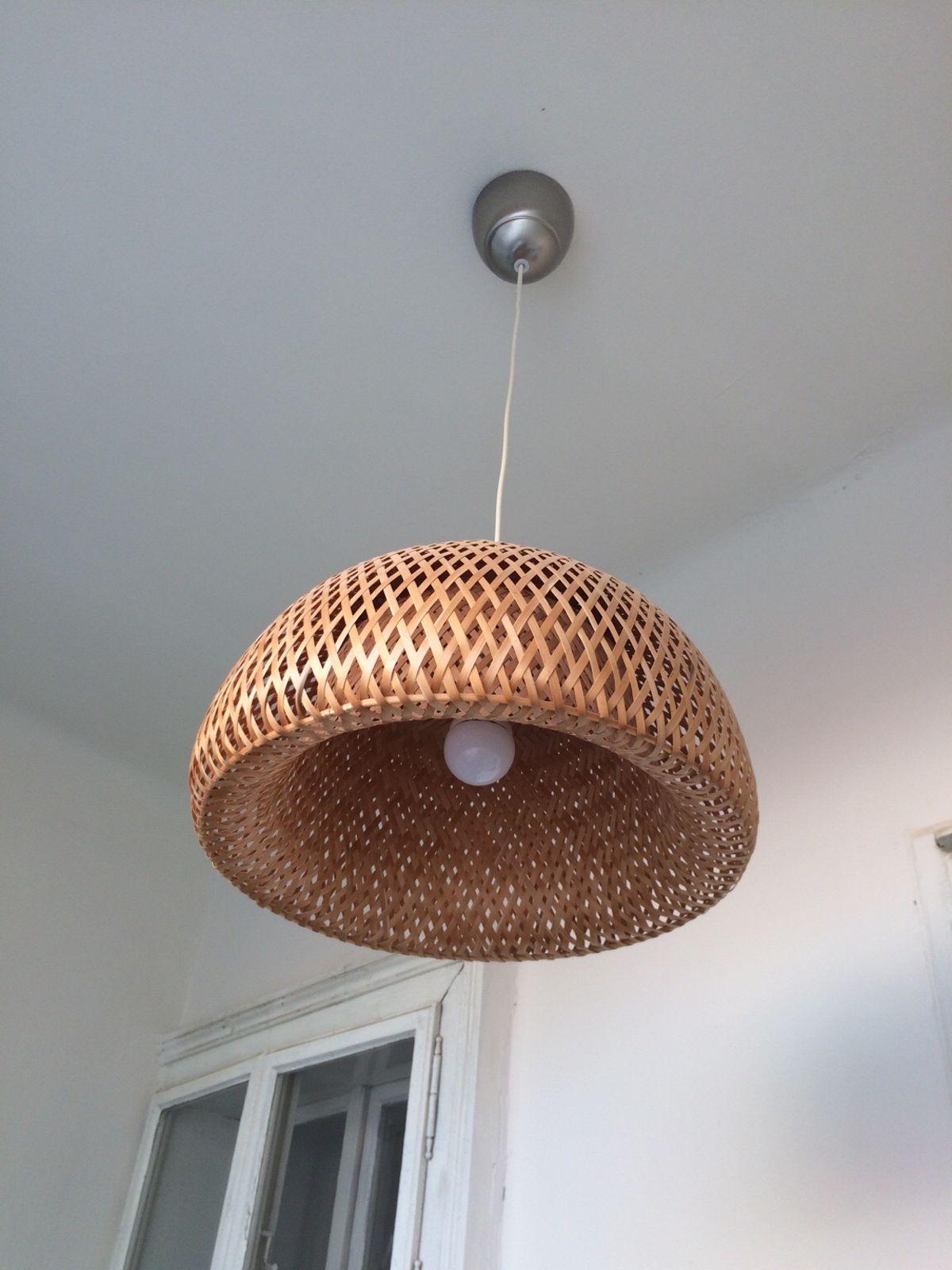 Rattan Lampenschirm Ikea