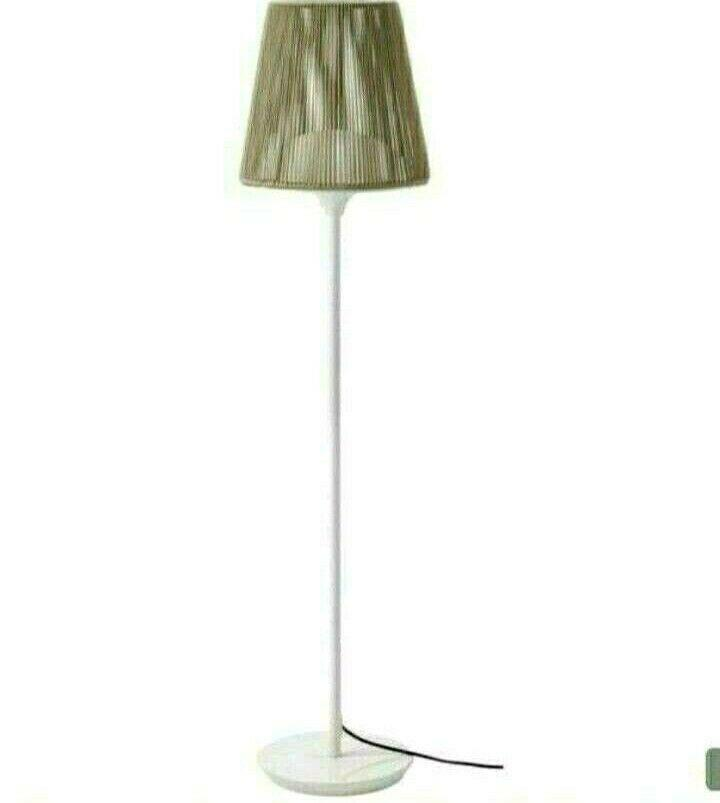 Rattan Stehlampe Ikea