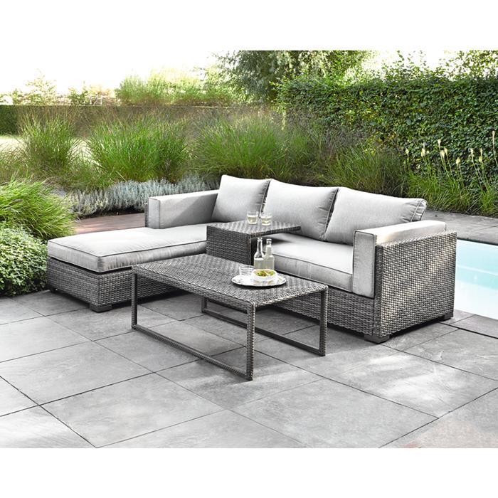 Rattanmöbel Garten Lounge