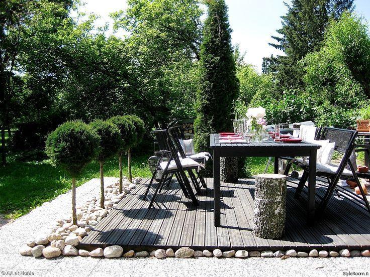 Rattanstuhl Schwarz Garten