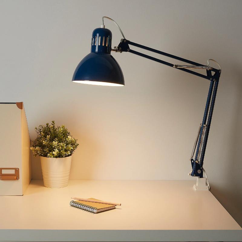 Rauchglas Lampe Ikea