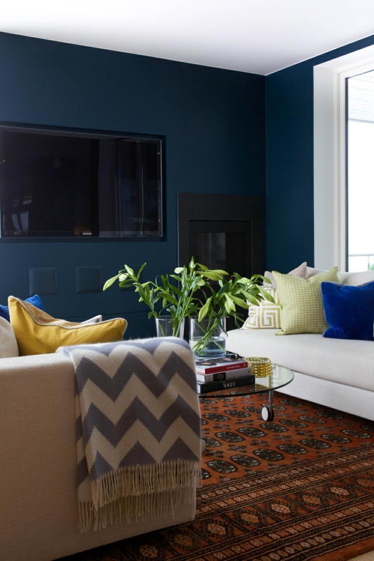 Raumgestaltung Wohnzimmer Mediterran