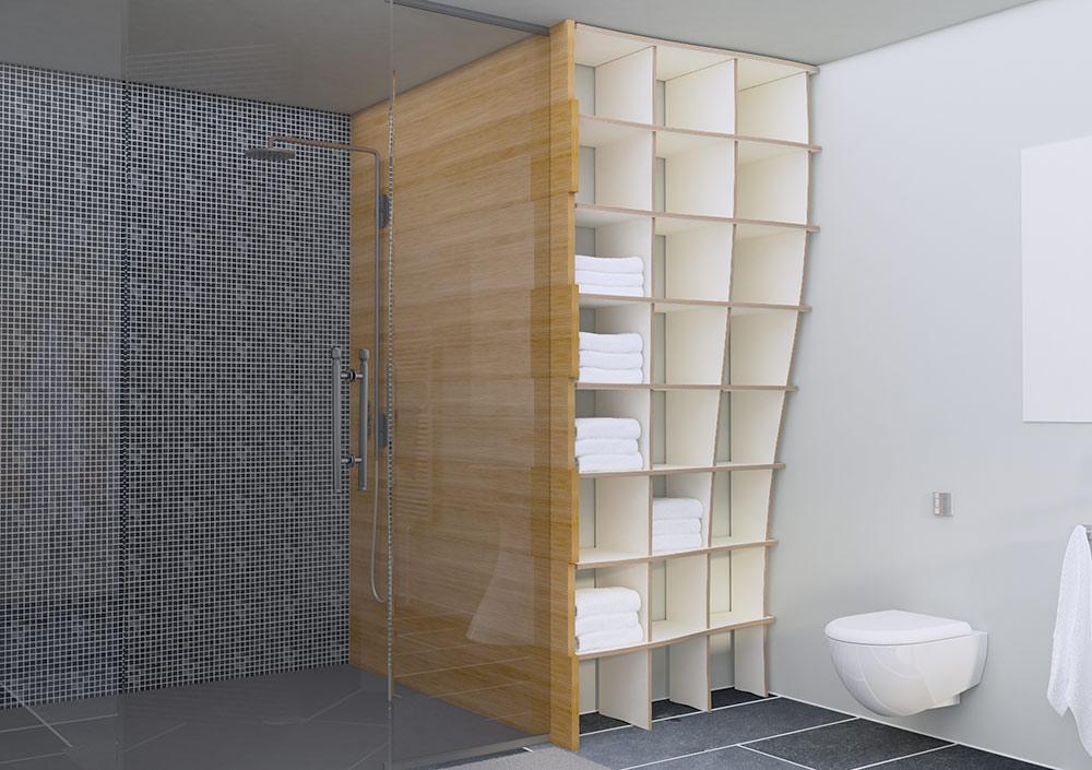 Regal Nische Bad