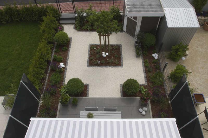 Reihenhausgarten Modern Gestalten