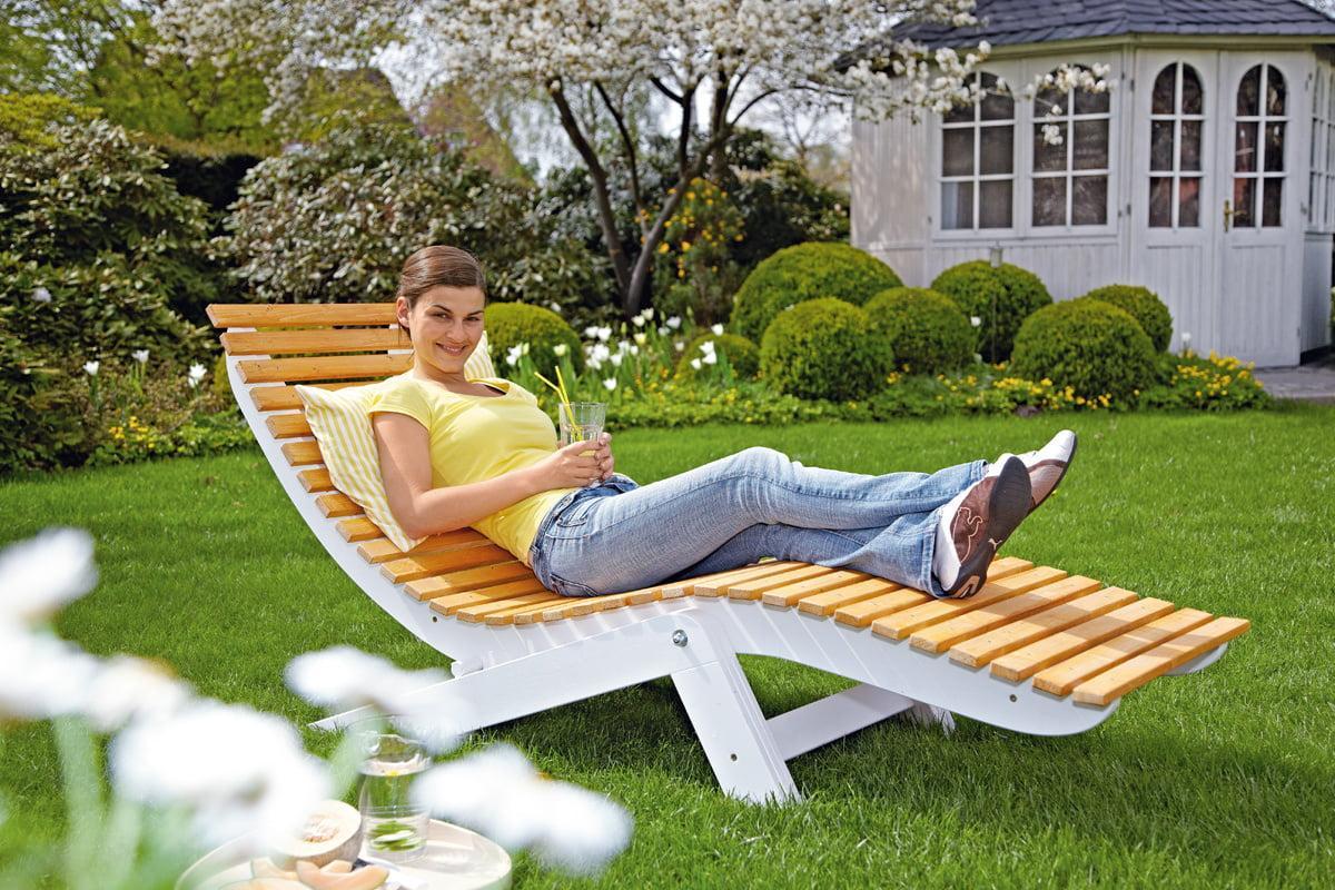 Relaxliege Garten Obi
