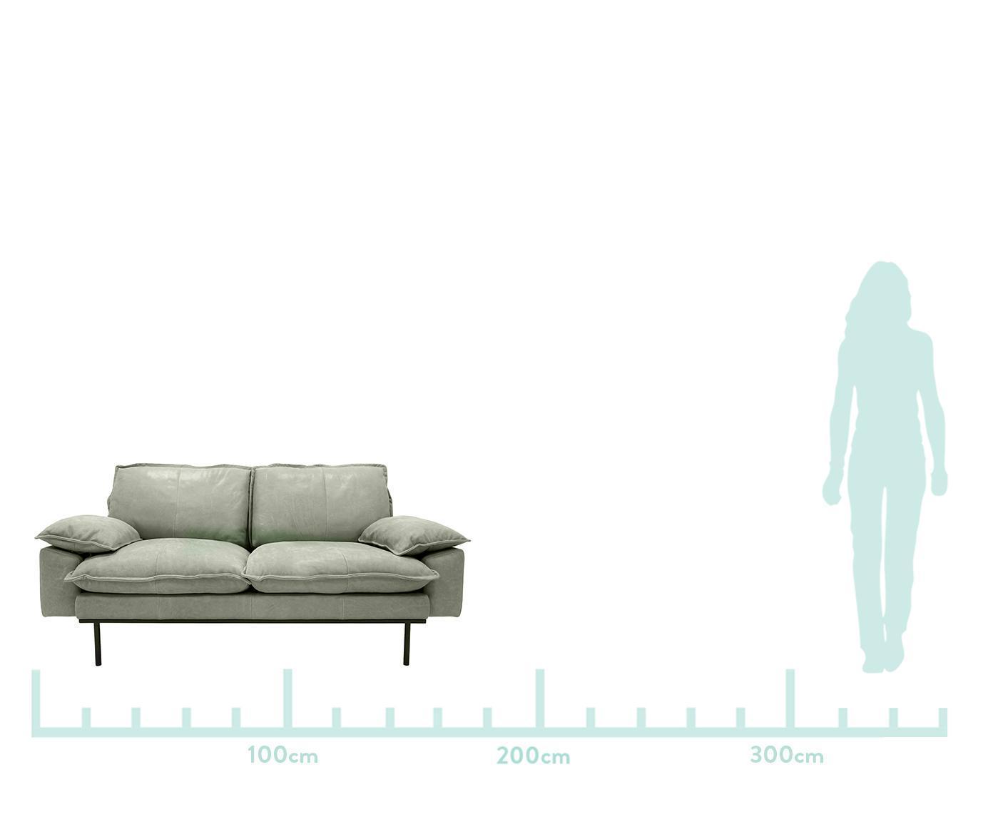 Retro Couch 2 Sitzer