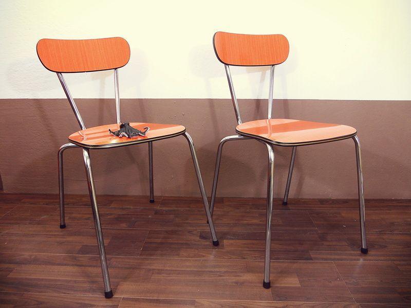 Retro Küchenstühle Holz