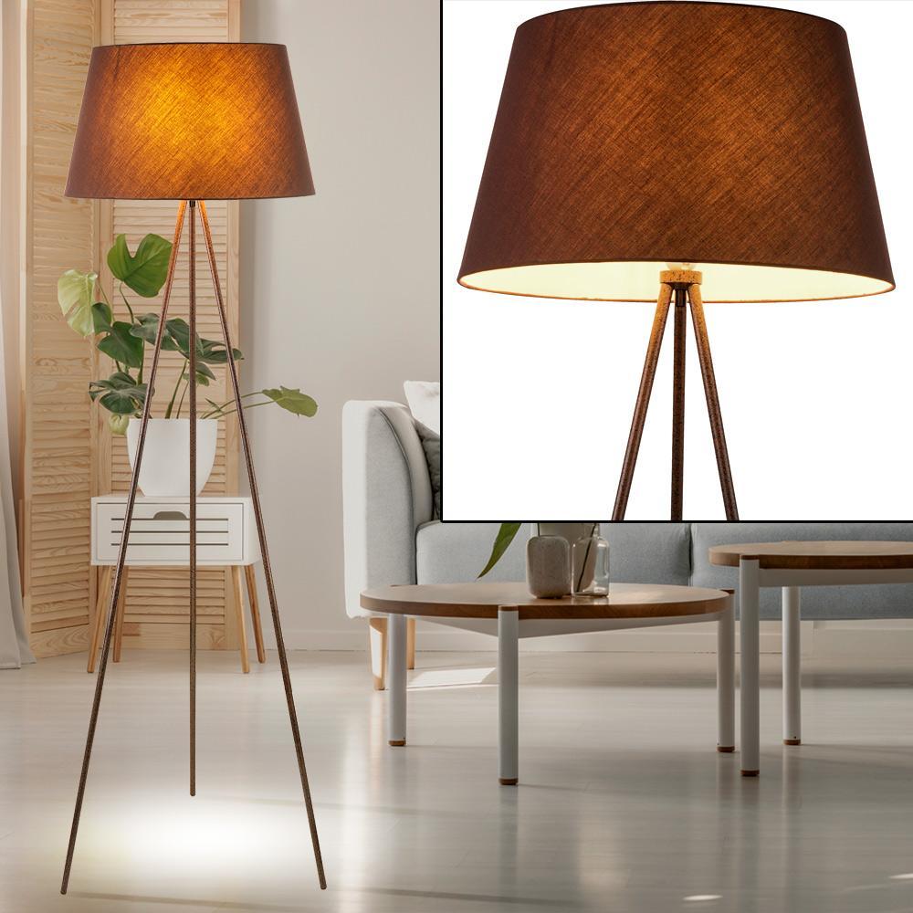 Retro Lampe Schwarz Gold