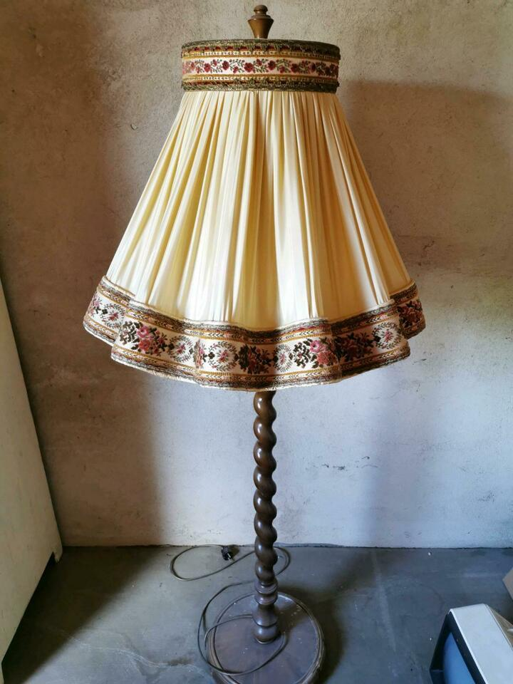 Retro Stehlampe 70er
